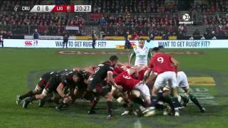 Crusaders v British & Irish Lions Super Rugby Video Highlights 2017