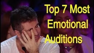 Download Video I BET YOU WILL CRY... Top 7 Most Emotional Auditions That Made Judges Cry :( MP3 3GP MP4