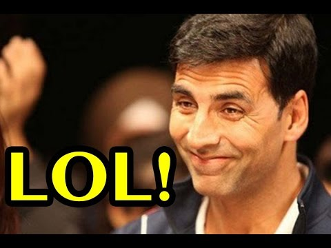 Akshay Kumar's Sarcasm When Funny Questioned Asked