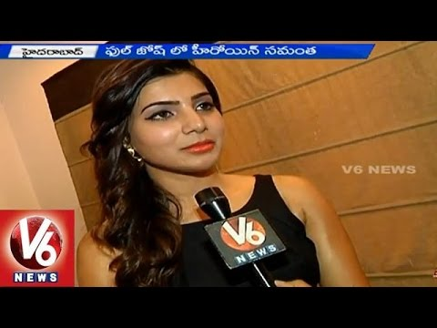 Samantha Ruth Prabhu Exclusive interview with V6 news 13042015