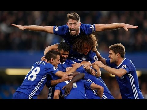 Chelsea Vs Manchester United 4-0 All Goals And Highlights 2016
