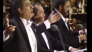 Video O' Sole Mio - Carreras - Domingo - Pavarotti - Los Angeles 1994... Emozionare Scherzando... MP3, 3GP, MP4, WEBM, AVI, FLV November 2018