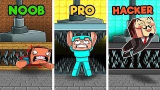 Video Minecraft - SECRET HIDDEN TRAPS! (NOOB vs PRO vs HACKER) MP3, 3GP, MP4, WEBM, AVI, FLV Juni 2019