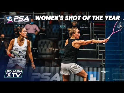 Squash: Women's Shot of the Year - 2020 Contenders
