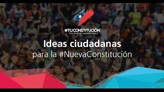 Ideas ciudadanas para nueva Constitución