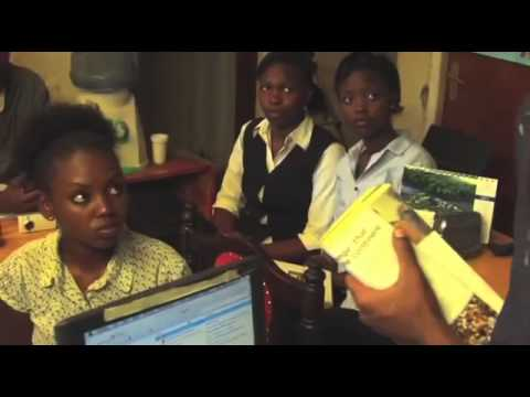 Swahili film, Girl Web POWER  Miss Nobody Competitive Language School Australia