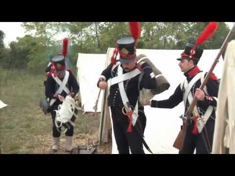 Reconstitution armée napoléonienne : L'équipement du soldat