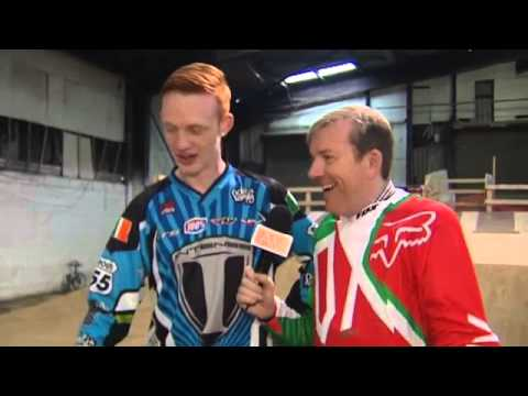 Ireland AM's Alan Hughes challenged to a BMX race in Challenge Alan