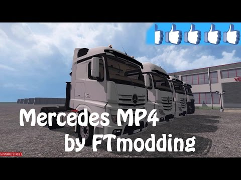 Mercedes mp4 pack v1.0