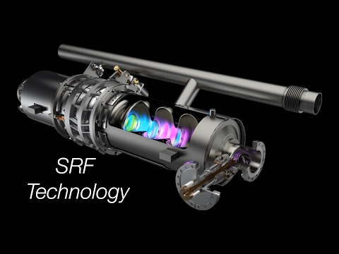 Better particle accelerators with SRF technology
