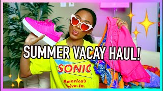 SUMMER VACAY HAUL! ☀️😎 🌴 + How to Save a Coin On Summer Finds! by VICKYLOGAN