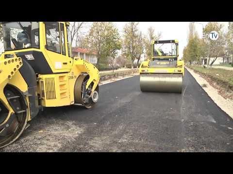 В Энергодаре продолжается ремонт дороги по улице Молодежной