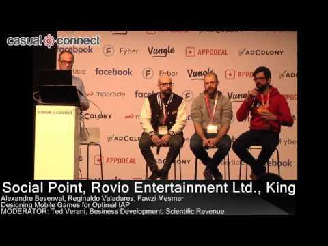 Designing Mobile Games for Optimal IAP | PANEL