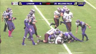 Bellows Falls (VT) United States  city photo : Lyndon Institute vs. Bellows Falls - Football - 10/3/15