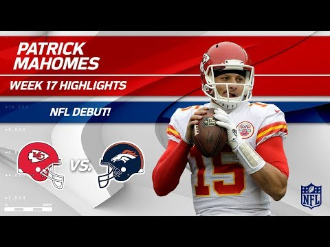 Video: Every Play from Patrick Mahomes on His NFL Debut! | Chiefs vs. Broncos | Wk 17 Player Highlights