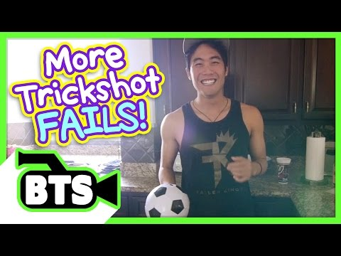 Soccer Trickshot Fails! (BTS) (видео)