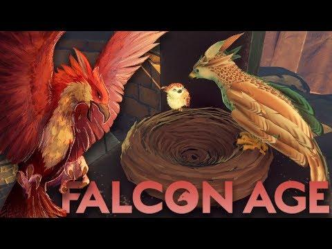 An Orphaned Falcon, An Abandoned World 🔅 Falcon Age • #1