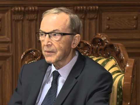 Nicolae Timofti a avut o întrevedere cu Wilfried Martens, presedintele Partidului Popular European