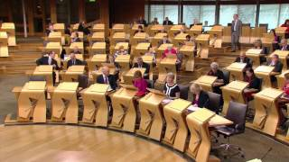 Read the full transcript of First Minister's Question Time in the Scottish Parliament Official Report: http://goo.gl/3zWNZq1. Oliver Mundell: To ask the Scottish Government when ministers last met representatives ofForestry Commission Trade Unions and what issues were discussed. (S5O-01185)2. Kate Forbes: To ask the Scottish Government whether it will provide an update on plans tobuild a new Belford Hospital in Fort William. (S5O-01186)3. Patrick Harvie: To ask the Scottish Government what recent discussions it has had with unionsregarding the future of its public sector pay policy. (S5O-01187)4. Liz Smith: To ask the Scottish Government what recent discussions it has had with BEAR andTransport Scotland regarding the management of roadworks on motorways. (S5O-01188)5. Sandra White: To ask the Scottish Government when it last met representatives of NHSGreater Glasgow and Clyde. (S5O-01189)6. Iain Gray: To ask the Scottish Government whether it will provide an update on the review ofstudent support. (S5O-01190)7. James Kelly: To ask the Scottish Government what its position is on calls to repeal theOffensive Behaviour at Football and Threatening Communications (Scotland) Act 2012. (S5O-01191)8. Tavish Scott: To ask the Scottish Government when it will announce its decision on theprocurement of the next phase of superfast broadband expansion. (S5O-01192)9. Anas Sarwar: To ask the Scottish Government, in light of NHS Greater Glasgow and Clyde'sdecision to close Lightburn Hospital, when it will make a decision on the hospital's future. (S5O-01193)10. Miles Briggs: To ask the Scottish Government how it will ensure that all diabetes patients whowould benefit from continuous glucose monitoring are able to access this technology. (S5O-01194)Published by the Scottish Parliament Corporate Body.www.parliament.scot  //  We do not facilitate discussions on our YouTube page but encourage you to share and comment on our videos on your own channels.  //  If you would like to join in