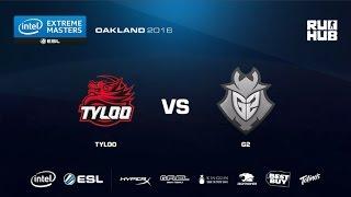 IEM Oakland - TyLoo vs G2 eSports - de_overpass - [ceh9, CrystalMay]