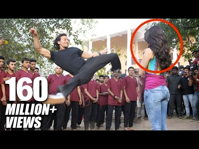 Tiger Shroff\'s Amazing Stunt With Shraddha Kapoor For Baaghi