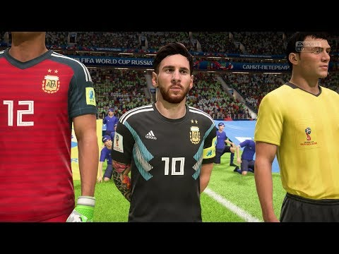 2018 FIFA World Cup Russia - Nigeria Vs Argentina (Full Gameplay)