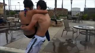 pichones on the pool :p