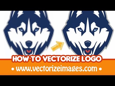 How To Redraw Vectorize Logo Into A Vector Format