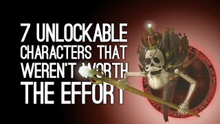 7 Unlockable Characters That Weren't Worth the Effort