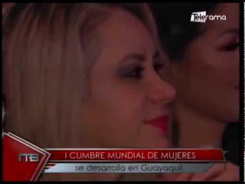 I Cumbre Mundial de Mujeres se desarrolla en Guayaquil