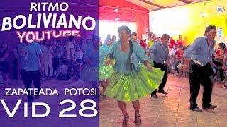 ZAPATEADA DE POTOSI - URKUPIÑA 2013 - ESPAÑA