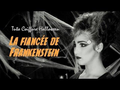 Coiffure Halloween / La Fiancée de Frankenstein