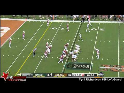 Spencer Drango vs Texas 2012 video.
