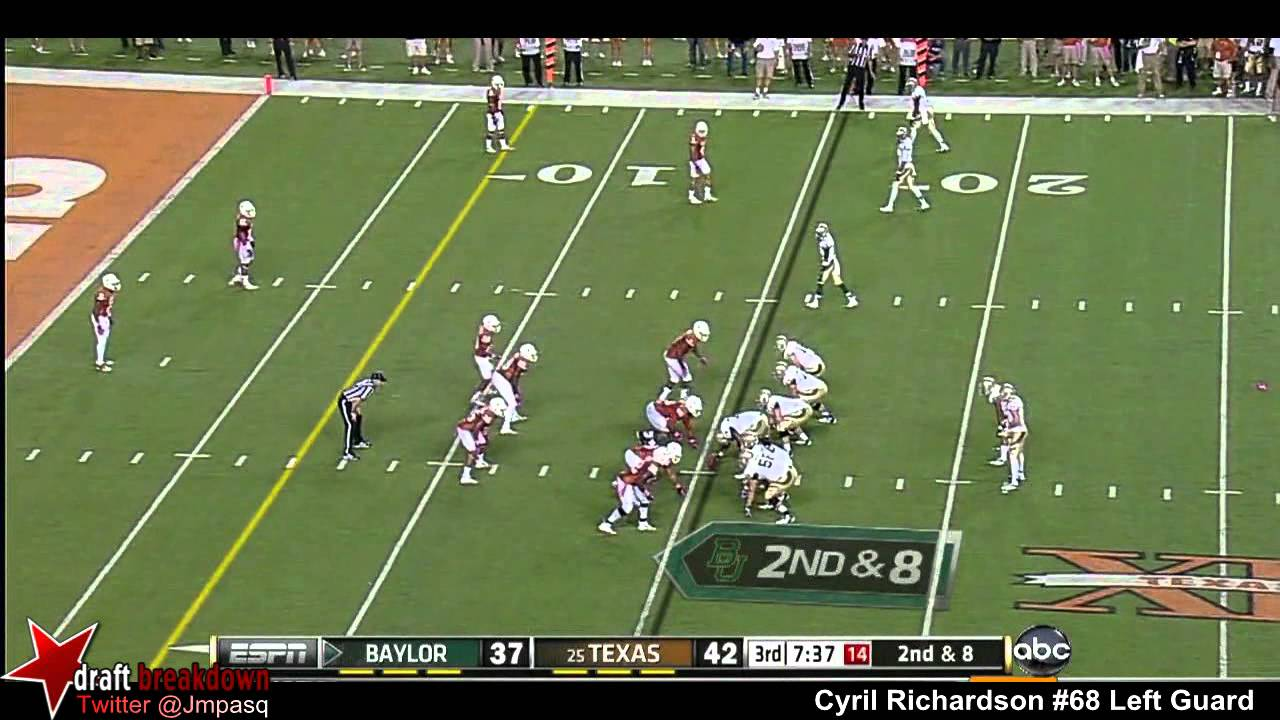 Cyril Richardson vs Texas (2012)