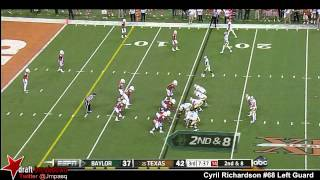 Cyril Richardson vs Texas (2012)