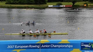 2017 European Rowing Junior Championships - Sunday