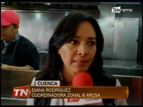 Arcsa realiza controles sanitarios en locales de venta de comida