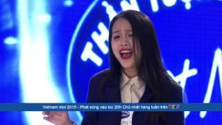 Di Linh Vietnam  city pictures gallery : Vietnam Idol 2015 - Tập 4 - Những lời buồn - Đỗ Mỹ Linh