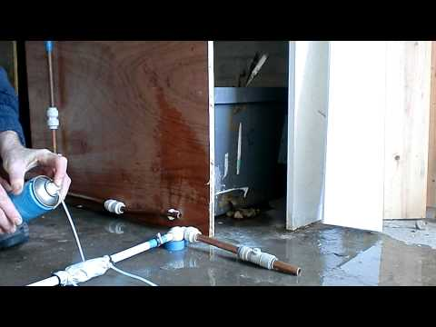 How to use a pipe- freeze kit - plumbing.