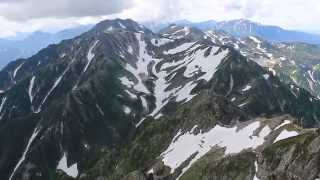 Kamiichi Japan  City new picture : 剱岳からの展望360度 Views from Mount Tsurugi