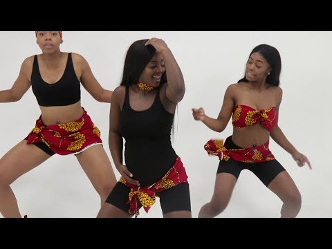 HOW TO DANCE BM - ROSALINA (BREAK YOUR BACK) With CeeCee Coco, Stacy Petit, Paige
