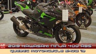 7. 2019 Kawasaki Ninja 400 ABS - Walkaround video - 2019 Quebec Motorcycle Show