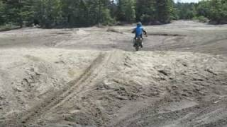 8. 2009 Drz 125l dirt bike ride.