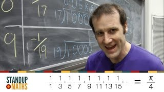 For Pi Day 2016 I tried to calculate π by hand, using an infinite series. It goes ok. Before you even start: - Yes, I know π Day...