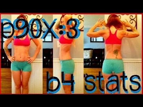 P90X:3 Before Stats