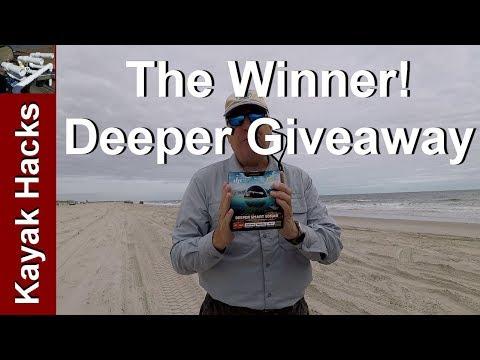 Deeper Pro+ GIVEAWAY - The Winner