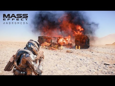 MASS EFFECT Andromeda | Combat | Official Gameplay Series - Part 1 (видео)