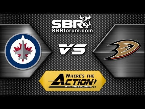 NHL Picks: Winnipeg Jets vs. Anaheim Ducks