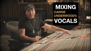 Video Mixing Carrie Underwood's Vocals - Chris Lord-Alge MP3, 3GP, MP4, WEBM, AVI, FLV Desember 2018