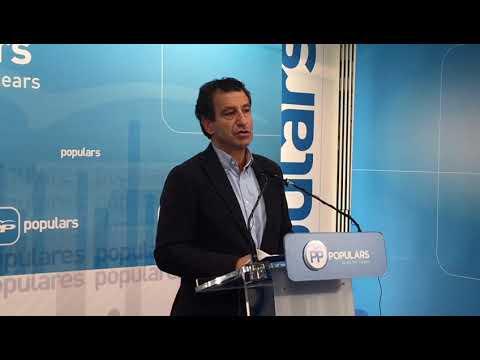 """Company exige a Armengol explicaciones inmediatas y """"máxima transparencia"""" sobre la situación del REIB"""
